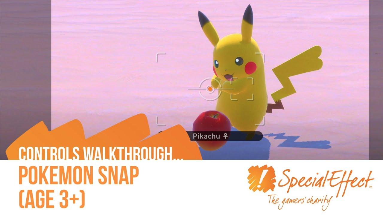 video placeholder for Pokémon Snap | Controls Walkthrough Video