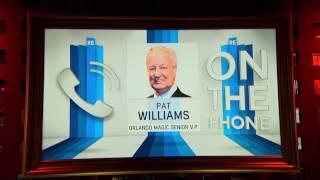 Orlando Magic VP Pat Williams on Kristaps Portingis Missing Exit Interview - 6/22/17
