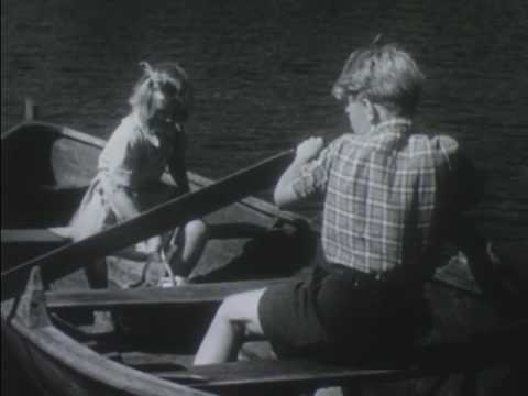 Norwegian Children - Farming On A Fjord (1950)