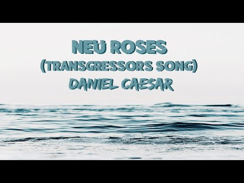 Daniel Caesar - Neu Roses (Transgressor's Song) (Lyrics)