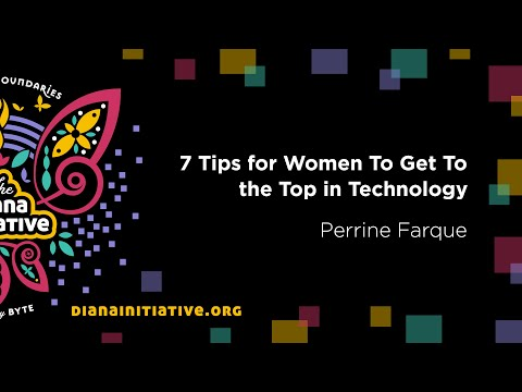 Diana Initiative 2020 - Perrine Farque - 7 Tips for Women To Get To the Top in Technology