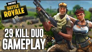 Crazy 29 Kill Duos Gameplay!! - Fortnite Gameplay - Ninja & Dr Lupo