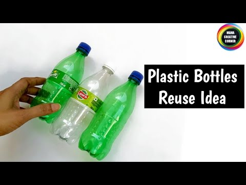 Download How to Reuse Waste Plastic Bottles at home/ Best out of waste plastic bottles craft idea / DIY Craft Mp4 HD Video and MP3