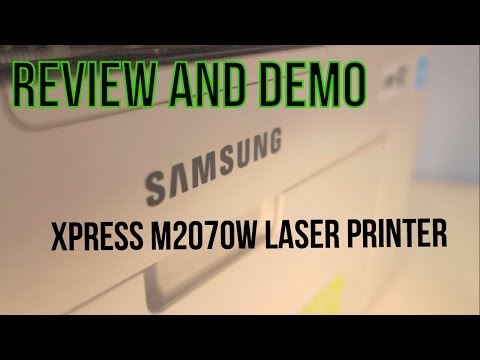 Samsung Xpress M2070W Wireless Laser Printer – Review and Demo – Budget Printing Perfection