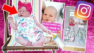INSTAGRAM FOLLOWERS CONTROL OUR BABY'S DAY!  🍼👶