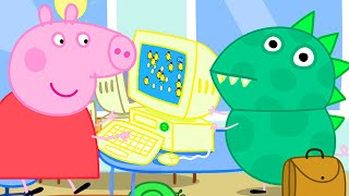 Peppa Pig Official Channel | Working in the Office with Peppa Pig and Dinosaur George