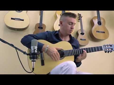 """Michael Sean Miller performing his arrangement of """"The Water Song"""" by Jorma Kaukonen"""
