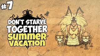 Taking a Look Underground & Our Summer Vacation - Don't Starve Together Gameplay - Part 7