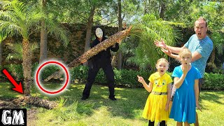 Game Master's Revenge! Rips Palm Tree Out of the Ground!!!