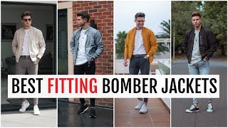 BEST FITTING BOMBER JACKETS FOR MEN 2019 | Mens Fashion (Asos, Bershka, Zara Etc)