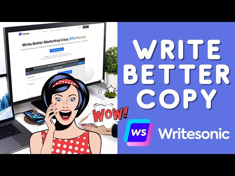 Write Better Marketing Copy, Effortlessly [Writesonic Review and Demo]