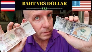 THE THAI BAHT vrs THE US DOLLAR V465