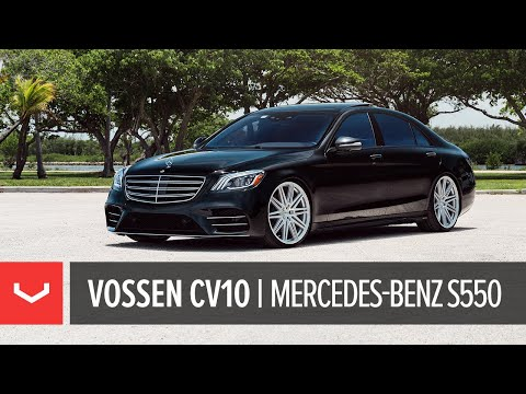 "Mercedes-Benz S Class S550 | Vossen CV10 22"" Wheels"