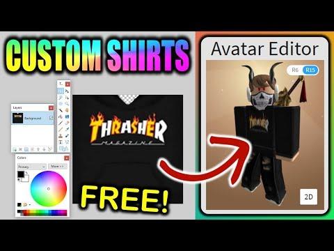 How to get free t-shirt on Roblox - смотреть онлайн на Hah Life