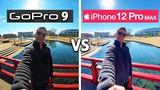 GoPro HERO 9 vs iPhone 12 Pro Max: Ultra-Wide Camera Test!