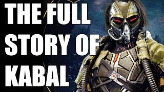 The Full Story of Kabal - Before You Play Mortal Kombat 11