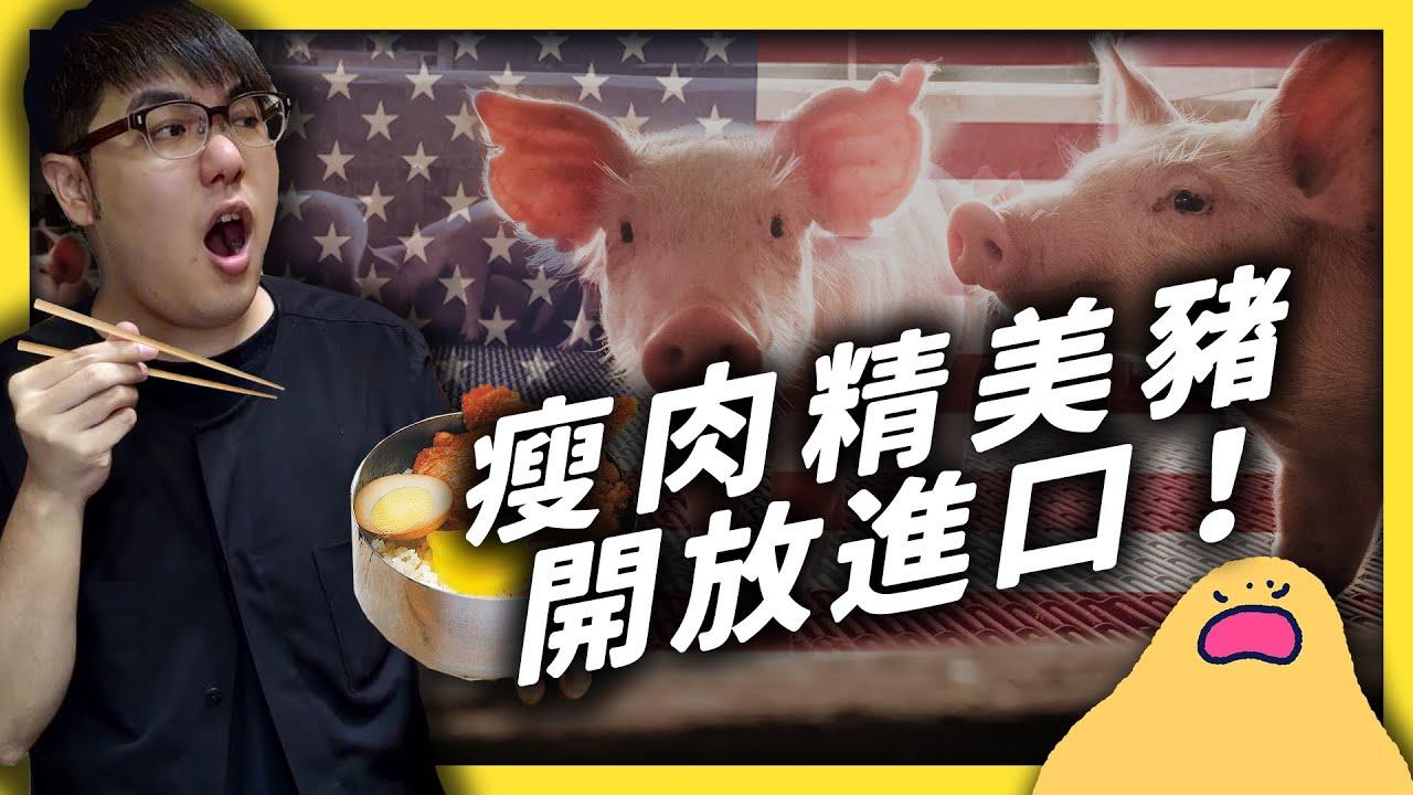 瘦肉精美豬引發爭議,是雙重標準還是時空真的不同了?|志祺七七