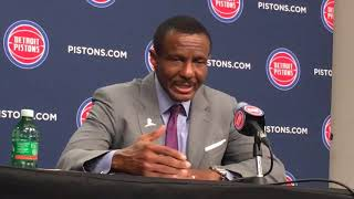 Pistons' Dwane Casey shares feelings about loss to Timberwolves