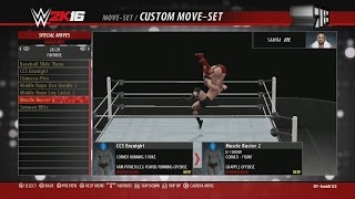 WWE 2K16 Future Stars DLC: All Moves, Taunts, Tag Moves & New OMG Moment