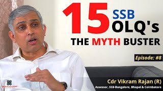 Officer Like Qualities in SSB , The Myth Buster By Cdr Vikram Rajan   SSB Dux Academy-SSB Psychology