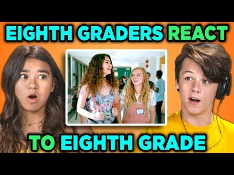 EIGHTH GRADERS REACT TO EIGHTH GRADE (Movie)