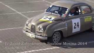 preview picture of video 'Saab 96 2T Fast Ride Zlot Mosina Poland 2014 HD'