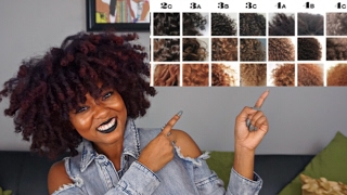 Natural Hair Types & Texture Tips  | Curl Pattern, Porosity, Density...