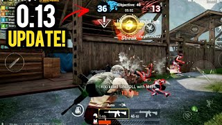 PUBG Mobile 0.13 BETA! What's New? TPP Team Deathmatch on PUBG Mobile