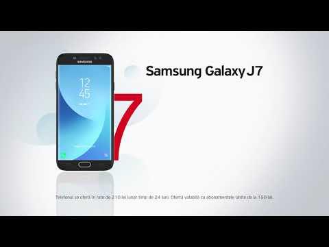 Samsung Galaxy J7 (2017) 7 lei pe zi cu abonamentele Unite