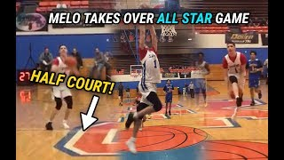 LaMelo Ball DOMINATES In All Star Game vs JULIAN NEWMAN!! Makes It Rain From HALF COURT & Drops 38!