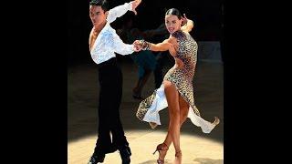 Смотреть онлайн Основные движения танца ча-ча-ча для на начинающих