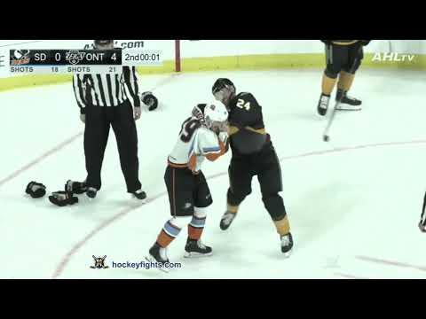 Cameron Gaunce vs. Nikolas Brouillard