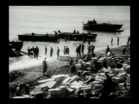 AMERICA GOES TO WAR RARE WWII NEWSREEL