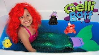 Halloween Costume Disney Princess Ariel Dress Up And Gelli Baff