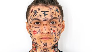 I Got My Whole Face Tattoo'd