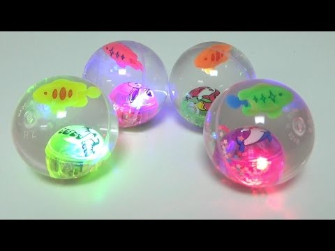 Bouncing Egg Light Rubber Ball Toys Play with a ball Unboxing Review
