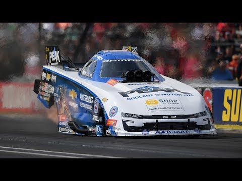 John Force races to his FIFTH career win at Indy
