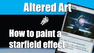 Basic Starfield - Altered Art Tutorial!