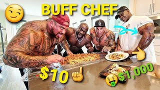 """10 DOLLAR """"PRISON"""" SPREAD vs 1,000 DOLLAR """"GOURMET"""" MEAL! COOKED BY FAMOUS WHITE HOUSE CHEF!"""