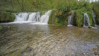 8 Hours of Powerful Water - Relax watching an English waterfall and river. NO MUSIC ASMR