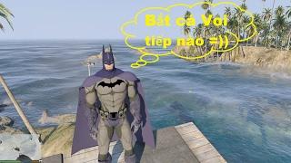 GTA 5 - Cùng Batman và Spiderman ra đảo Phú Quốc chơi (Phần tiếp theo)