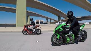 Kawasaki ZX10R vs BMW S1000RR vs Yamaha R1M vs GSXR 1000 - T2K19