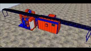 ELBOY SEMI AUTOMATIC 3 CONVEYORED  POWDER COATING LINE | ELEKTROSTATİK TOZ BOYA TESİSİ