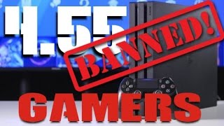 PS4 4.55 BANNED AFTER UPDATE WARNING Sony Ban?