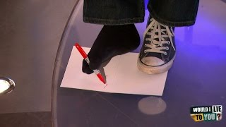 Does Lee Mack sign his christmas cards with his feet? - Would I Lie to You? [HD][CC-EN,ET]