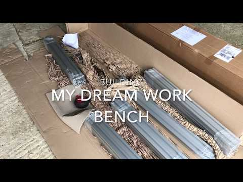 My Dream MFT WorkBench & Miter Saw Station part1 - aluminium profile