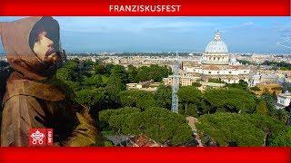 Papst Franziskus-Franziskusfest 2019-10-04