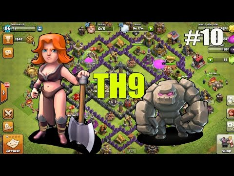 Clash of Clans #10/ TH9 comeback série ??? / SK Let's play