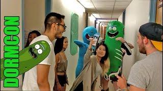Pickle Rick Crashes Dormcon!