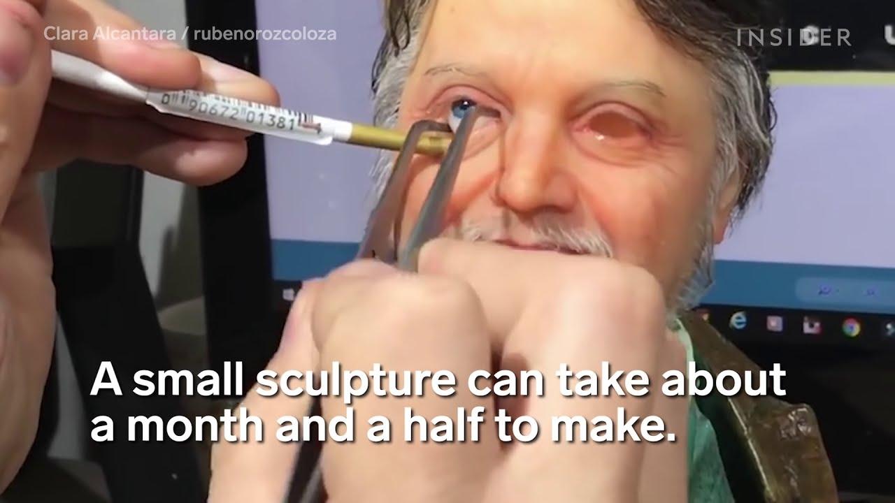 real life replicas sculpture by ruben orozco loza